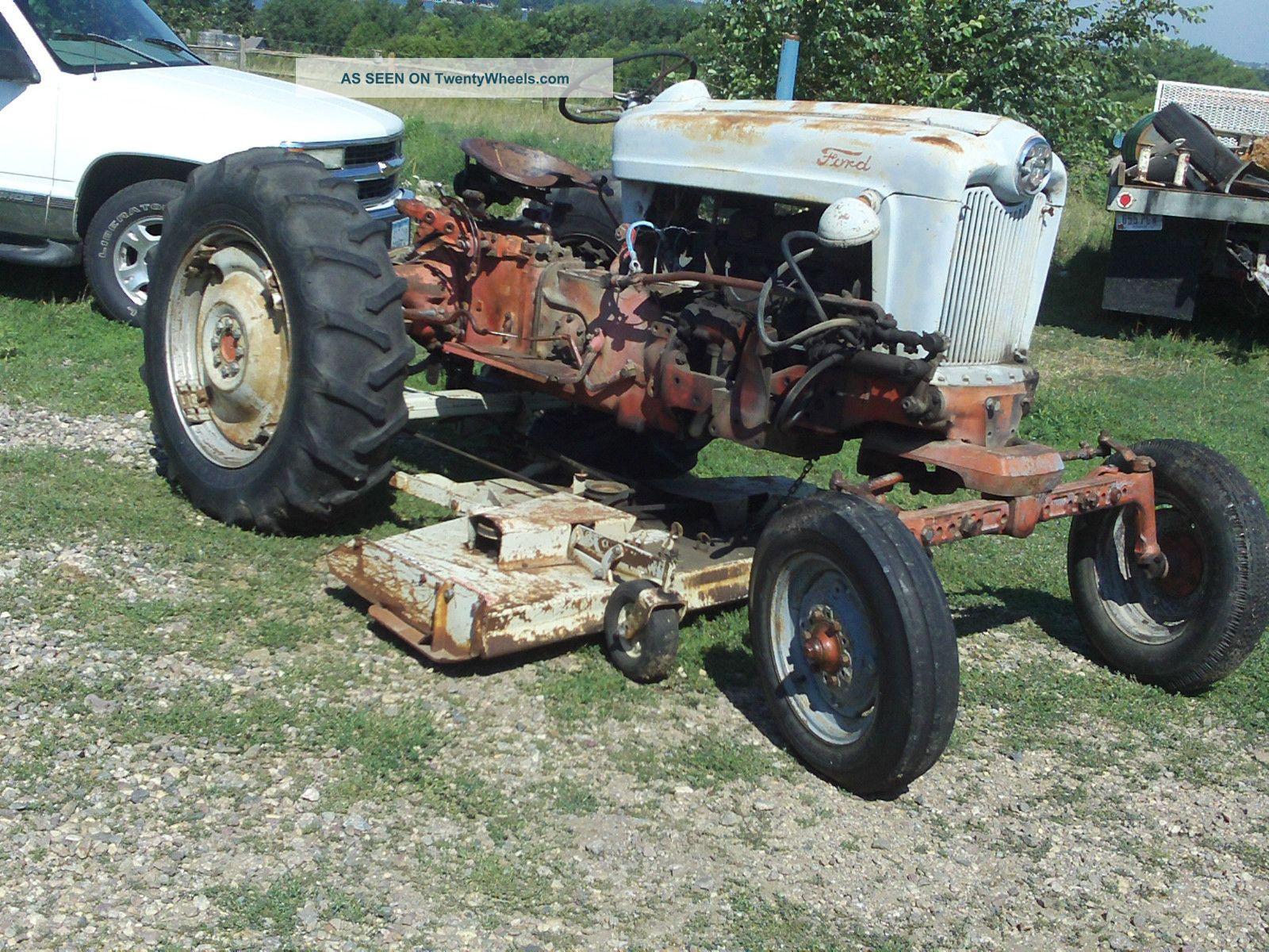 Ford Backhoe Craigslist Autos Weblog