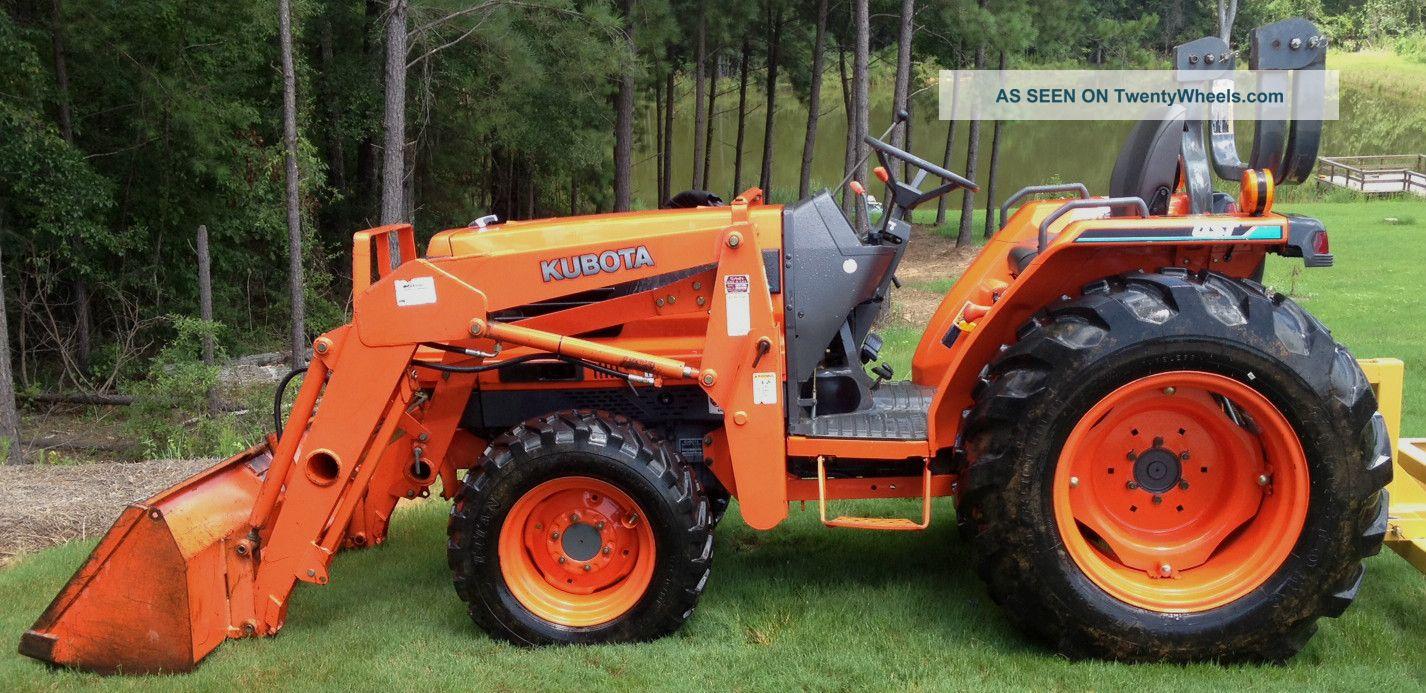 Kleintraktor allrad traktor kubota b7000 neu lackiert überholt klein picture