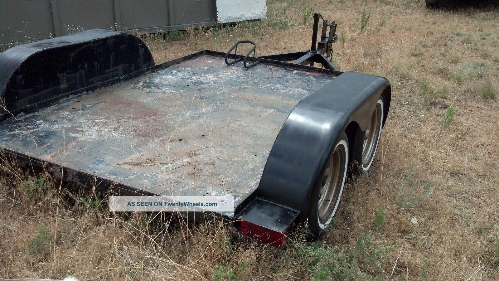 More Homemade wood utility trailer ~ Uniq Plan