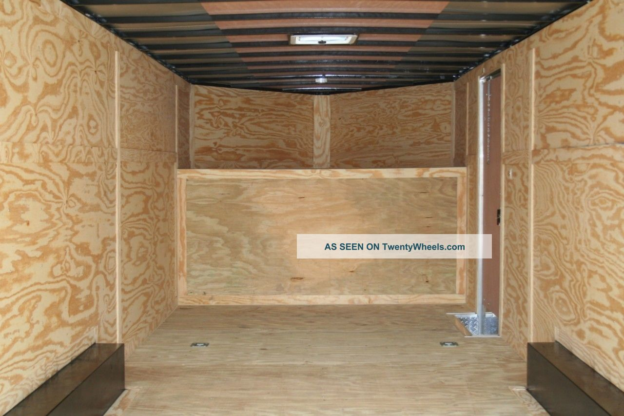 Basics Woodworking: Homemade wood enclosed trailer
