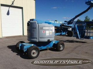 Genie Z45/25j Manlift Boomlift Z Boom Aerial Boom 45 ' Aerial Lift Ie Jlg Grove photo