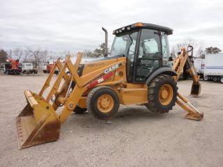 2005 Case 580sm Series 2 Backhoe 4x4,  Extendahoe,  3rd Valve Erops,  6672 Hrs 86893 photo
