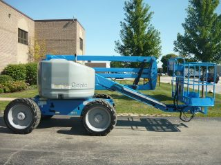 2006 Genie Z45/25 Rt 4x4 Articulating Boom Manlift Aerial Ford Dual Fuel Low Hrs photo