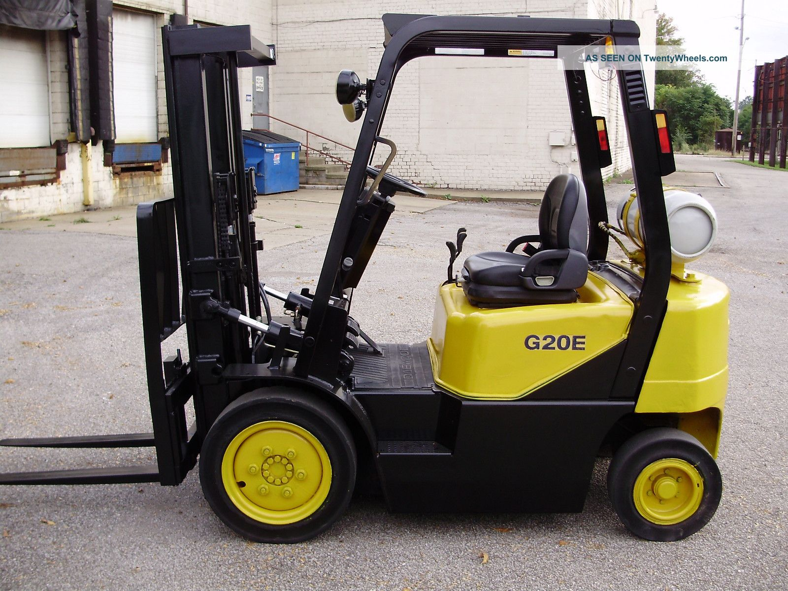 Forklift Daewoo Manual: Daewoo g e forklift no reserve auction on