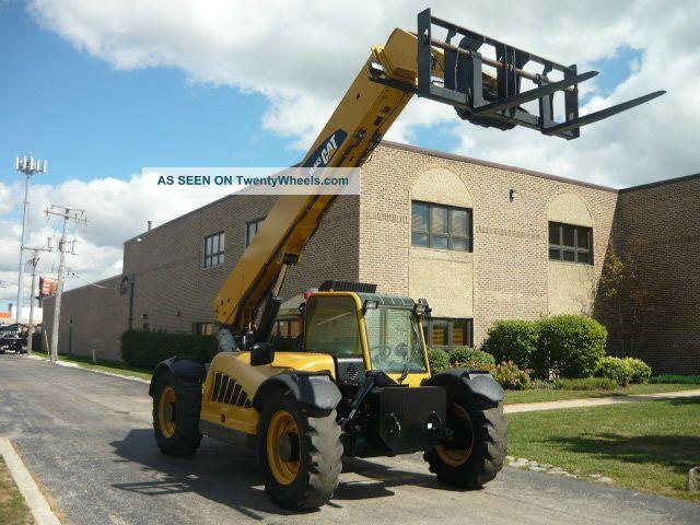 Cat Lift Boom : Caterpillar cat tl reach forklift jlg telehandler
