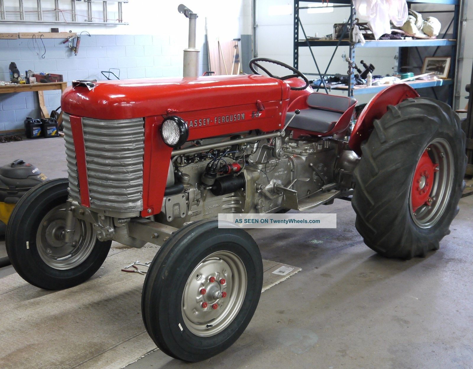 1956 Massey Ferguson 40 Tractor : Massey ferguson tractor pictures to pin on pinterest