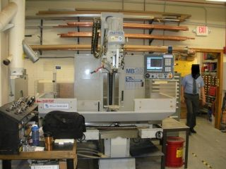Milltronics Mb20 4 - Axis Cnc Vertical Bed Mill Milling Machine With Troyke Rotary photo