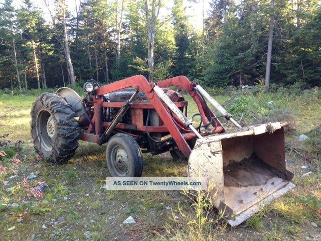 Ford Tractor 800 Series Specifications : Ford series tractor with bucket