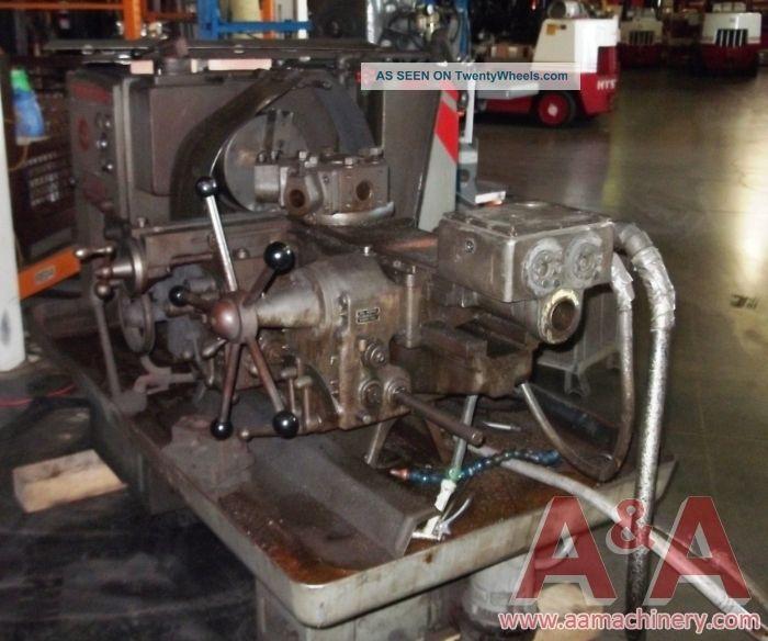 Ford 4000 Warner Swasey Fork Lift : Warner swasey m lathe