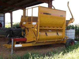 2009 Duratech Haybuster 2650 Bale Processor Straw Hay Blower; photo