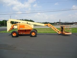 Jlg 600aj Boom Lift Manlift Man Lift Aerial Articulating Boomlift Genie Snorkel photo