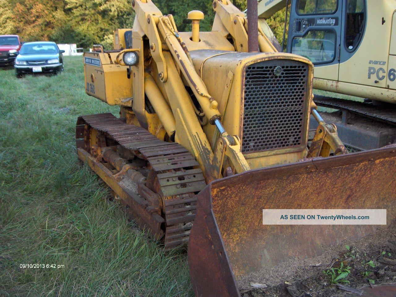 John Deere 350 Crawler Loader, Gas, Needs Tlc