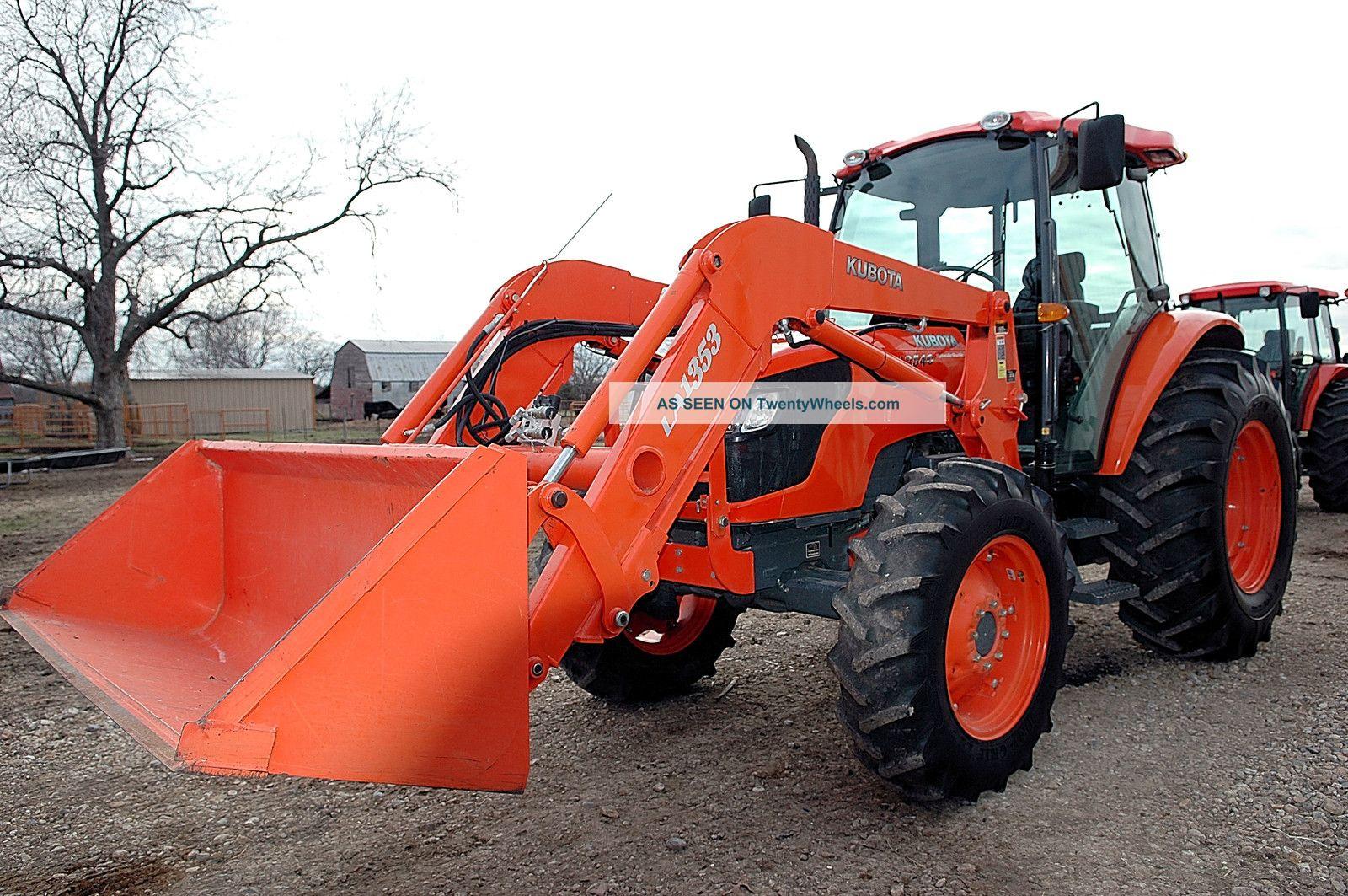 2009 Kubota M 9540 Hdc, 4x4, Cab Air, 711 Hrs, W/kub Loader