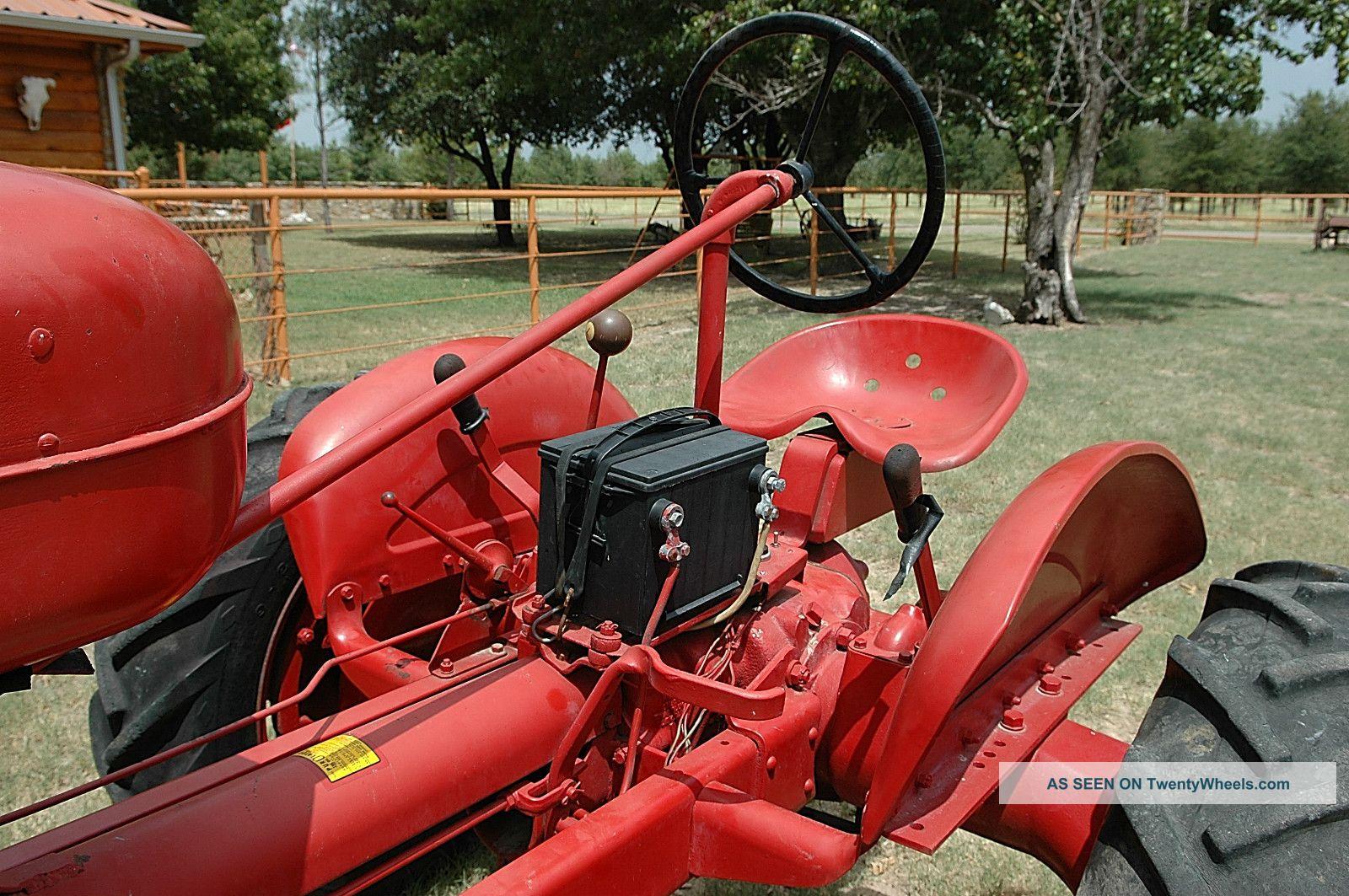 B F Avery Restored Tractor