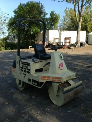 Ingersoll Rand Dd10st Static Smooth Drum Roller photo