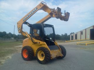 John Deere Skid Steer Loader photo