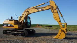 Caterpillar 318cln Cab,  Heat,  Air,  Crawler Excavator Backhoe Diesel Cat Machine Ac photo