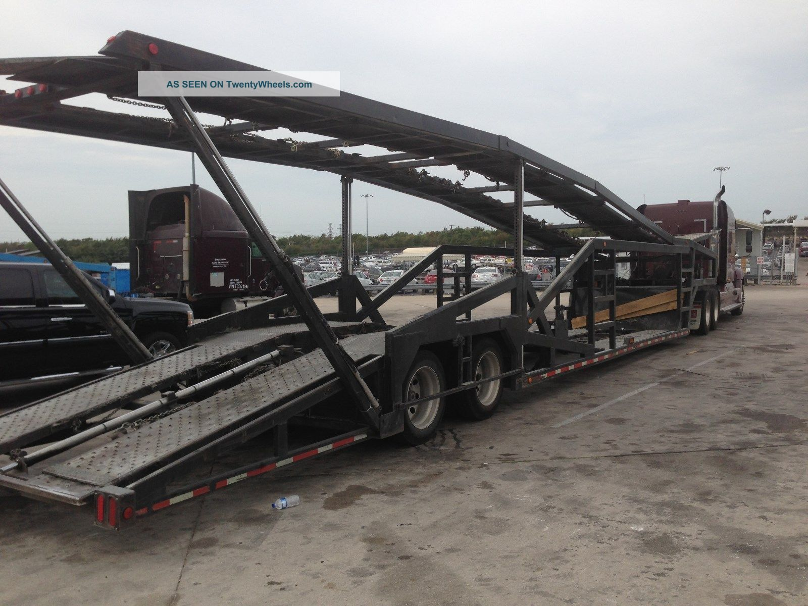 2002 Miller T7 Car Hauler Trailers photo