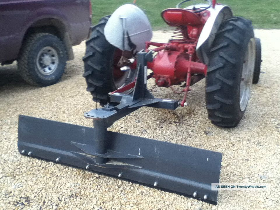 Ford N Tractor With Blade Sherman Overdrive Pt Hitch Lgw