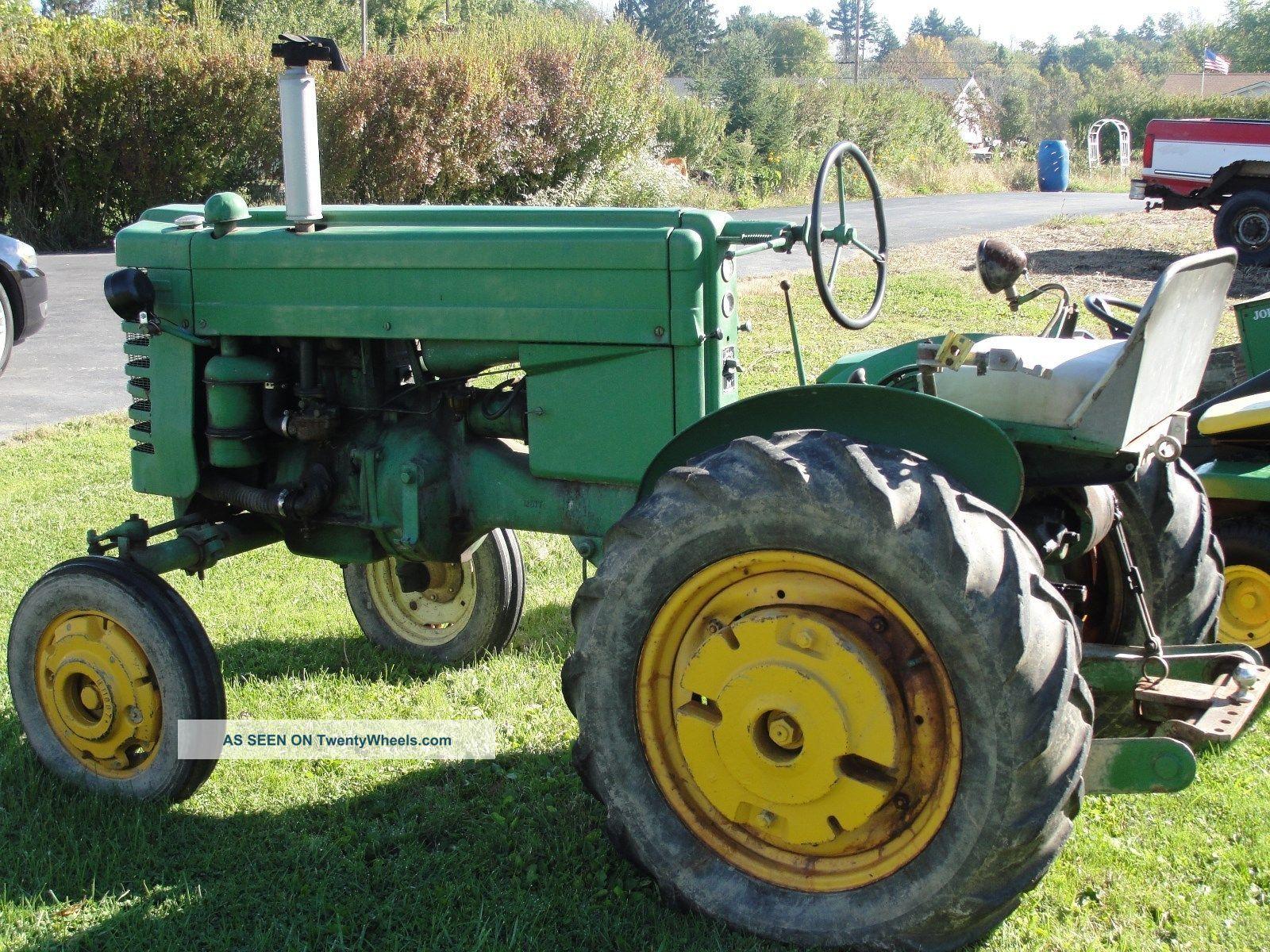 Old John Deere Tractors : Vintage john deere model m tractor