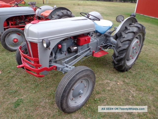 Restored Ford 9n : N ford tractor restoration