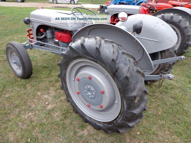Restored Ford 9n : Ford n farm tractor restored fully functional
