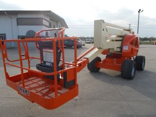 2006 Jlg 450a Aerial Manlift Boom Lift Man Articulating Boomlift 45 ' Lift photo