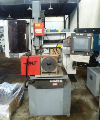 Astec A34 Cnc High Speed Edm Drill Electrical Discharge Machine Haas Rotary photo