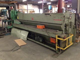12 ' Hydracut Hydraulic Shear 1/8