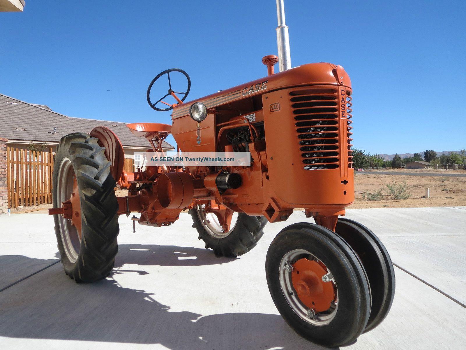 Case Vac Tractor Data : Case vac
