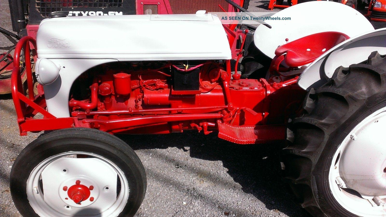 Ford 9n Restored : Ford n tractor restored hp point ie