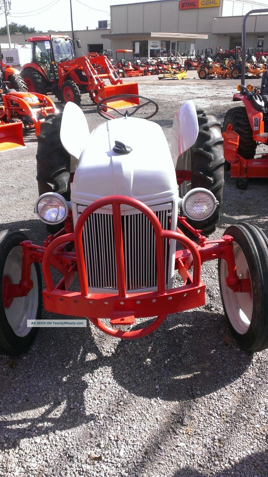 Restored Ford 9n : Ford n tractor restored hp point ie
