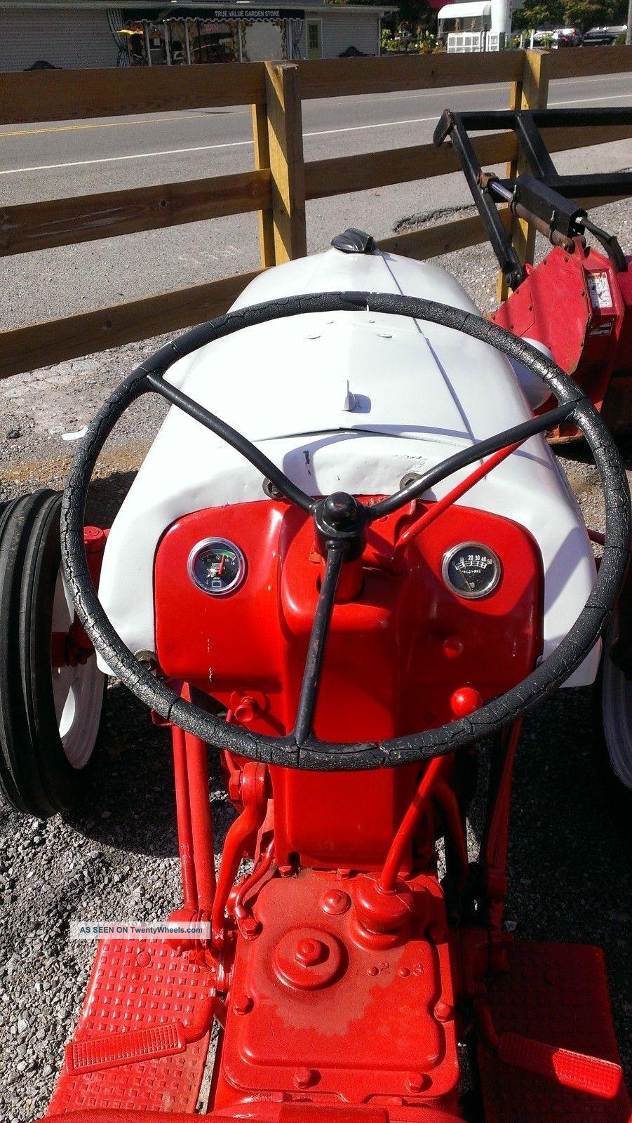 Ford N Tractor Restored Hp Point Ie N N Fordson Harry Ferguson Lgw