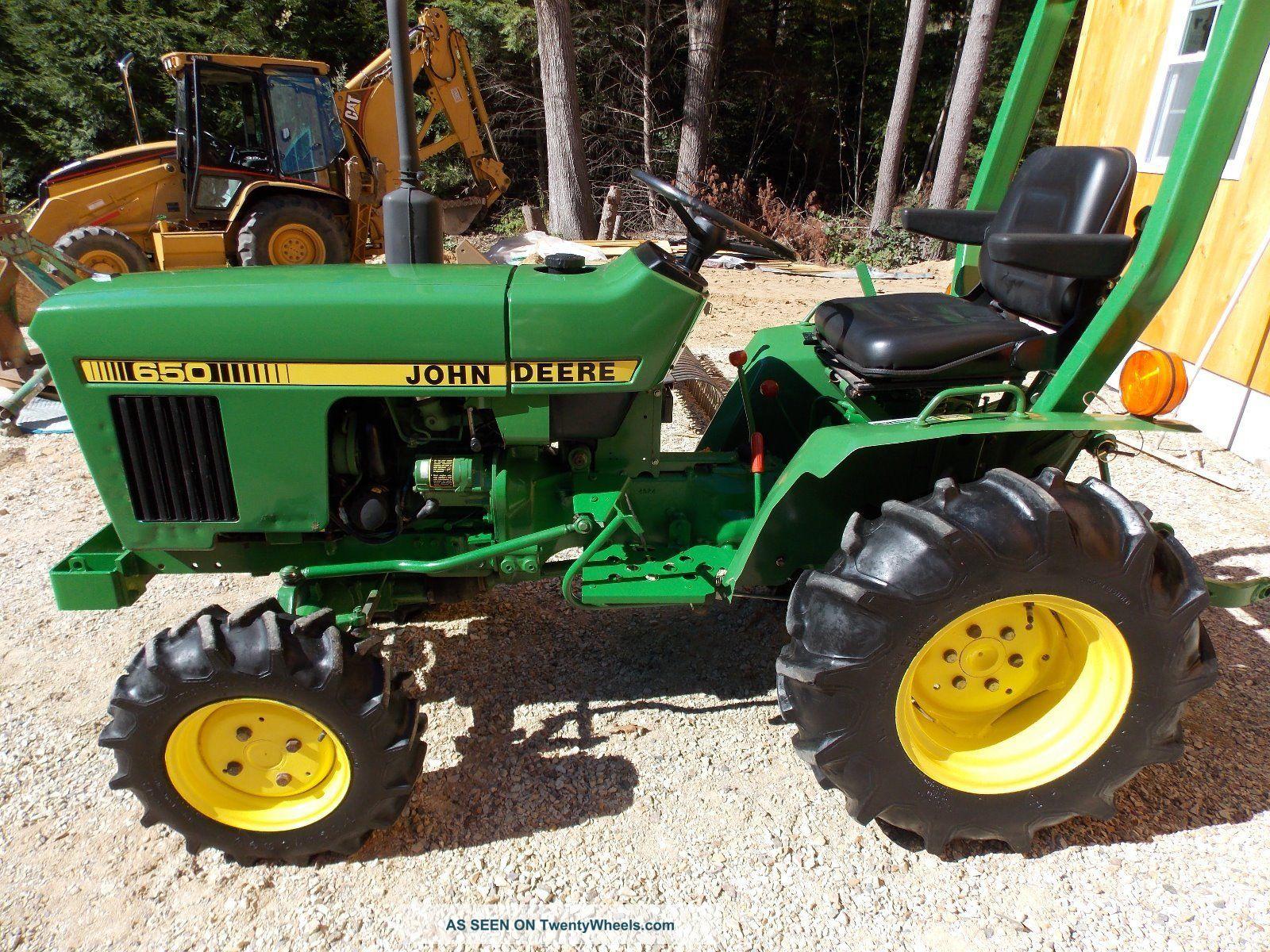 John Deere 650 >> John Deere 650 Tractor