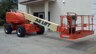 Jlg 600s Aerial Manlift Boom Lift Man Boomlift Painted Inspected Only 1196 Hours photo