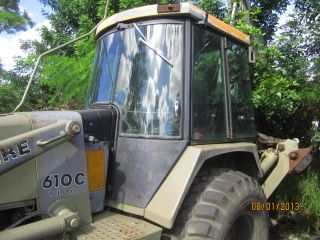 Backhoe John Deere 610 C Turbo - U.  S.  Army Specifications photo