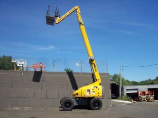 Haulotte Hb68j 4x4 Diesel Telescopic Boom Lift photo