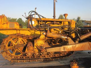 1938 Caterpillar D2 Crawler & Dakota Blade photo