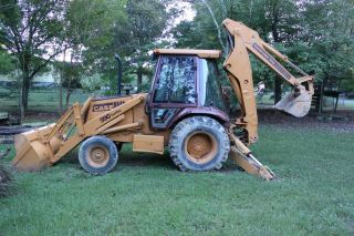 Case 590 Turbo Backhoe photo
