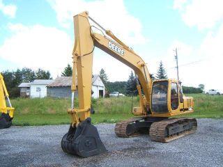 John Deere 160lc Excavator photo