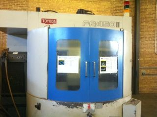 Toyoda Horizontal Machining Center,  Fa - 450ii Hmc,  Yr - 97 ' W/ 90 Atc,  Full 4th photo