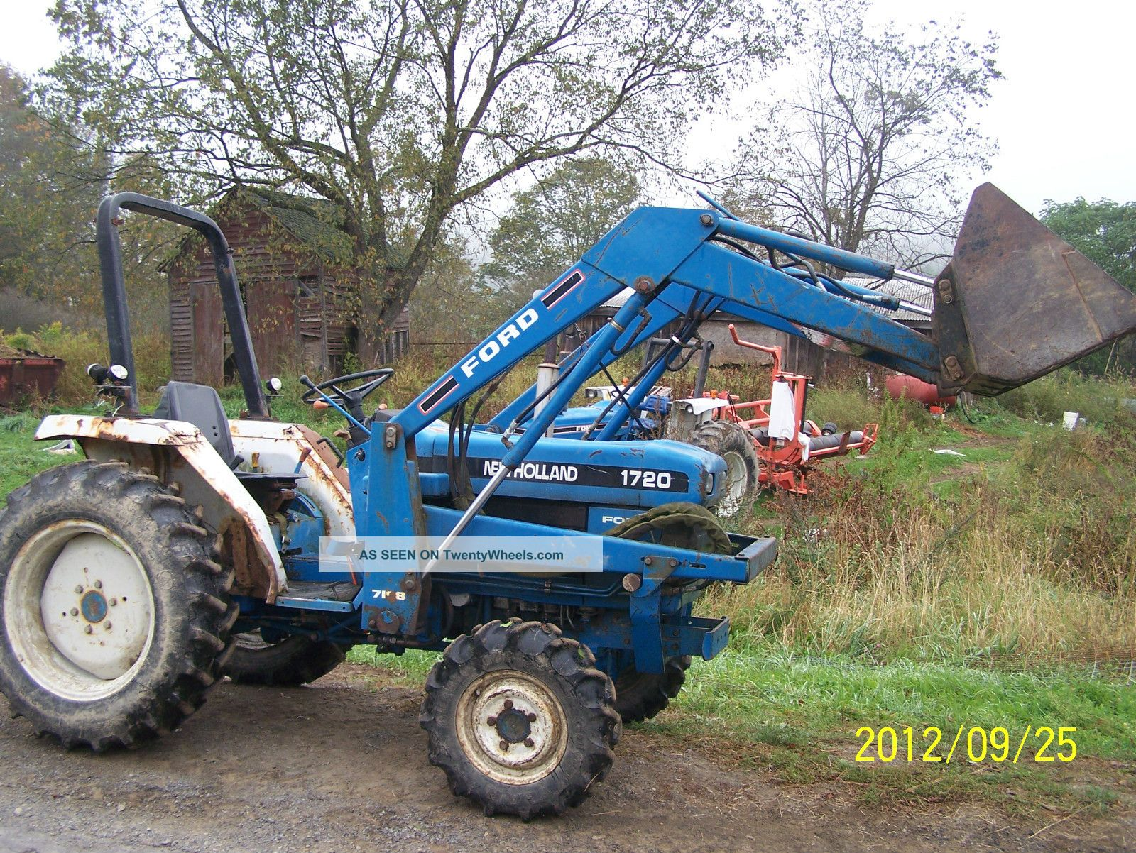 Holland Ford Compact Tractor 1720 Other photo