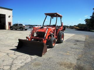2005 Kubota L35 4x4 Tractor Loader Backhoe Only 855 Hours,  Backhoe photo