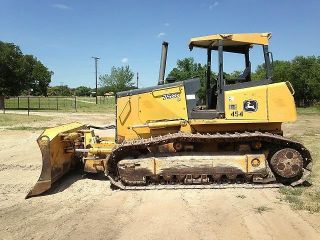 2007 John Deere 750j Lt Crawler Dozer And photo