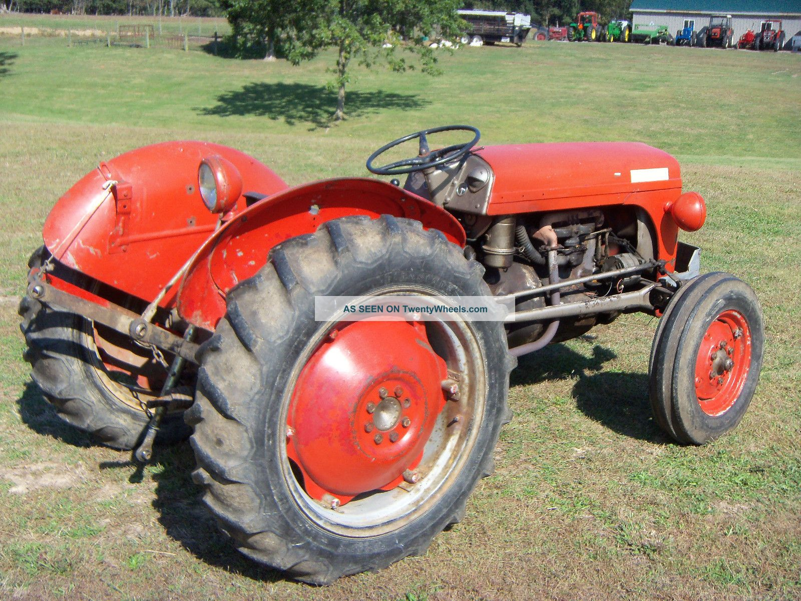 To 20 Ferguson Tractor : Ferguson to tractor gas