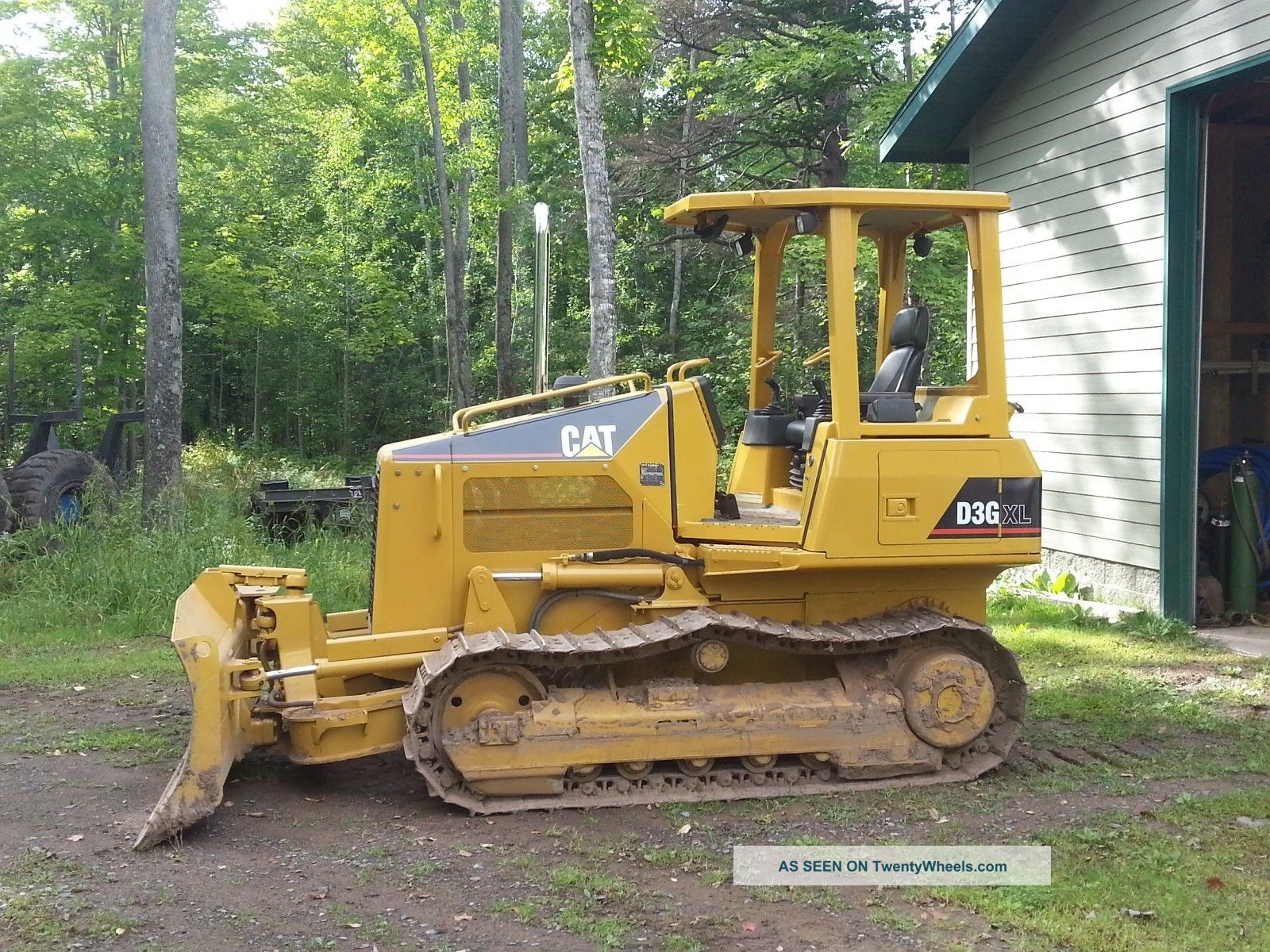 Cat D3g Xl Dozer Mining Equipment photo