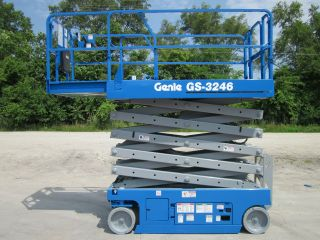 2008 Genie Gs3246 Scissor Lift Manlift Boom Aerial Jlg Skyjack photo