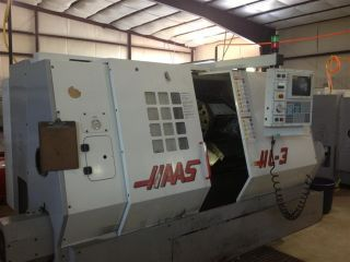 1998 Haas Hl - 3 Cnc Lathe Turning Center Tailstock 30hp Motor 2.  5