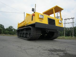 Morooka Mst800 Track Dump Truck Crawler Carrier 8,  800 Capacity photo