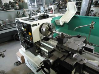 Clausing Colchester 15x50 Lathe With Dro,  3 - Jaw Chuck,  Steady Rest,  Tooling photo